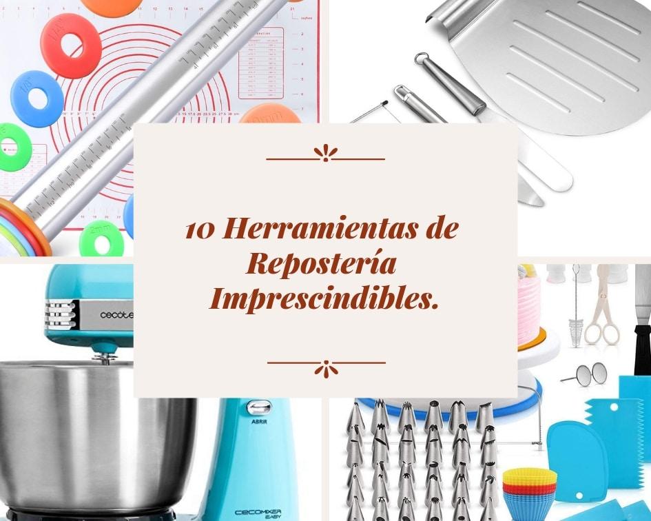 10 herramientas de repostería imprescindibles