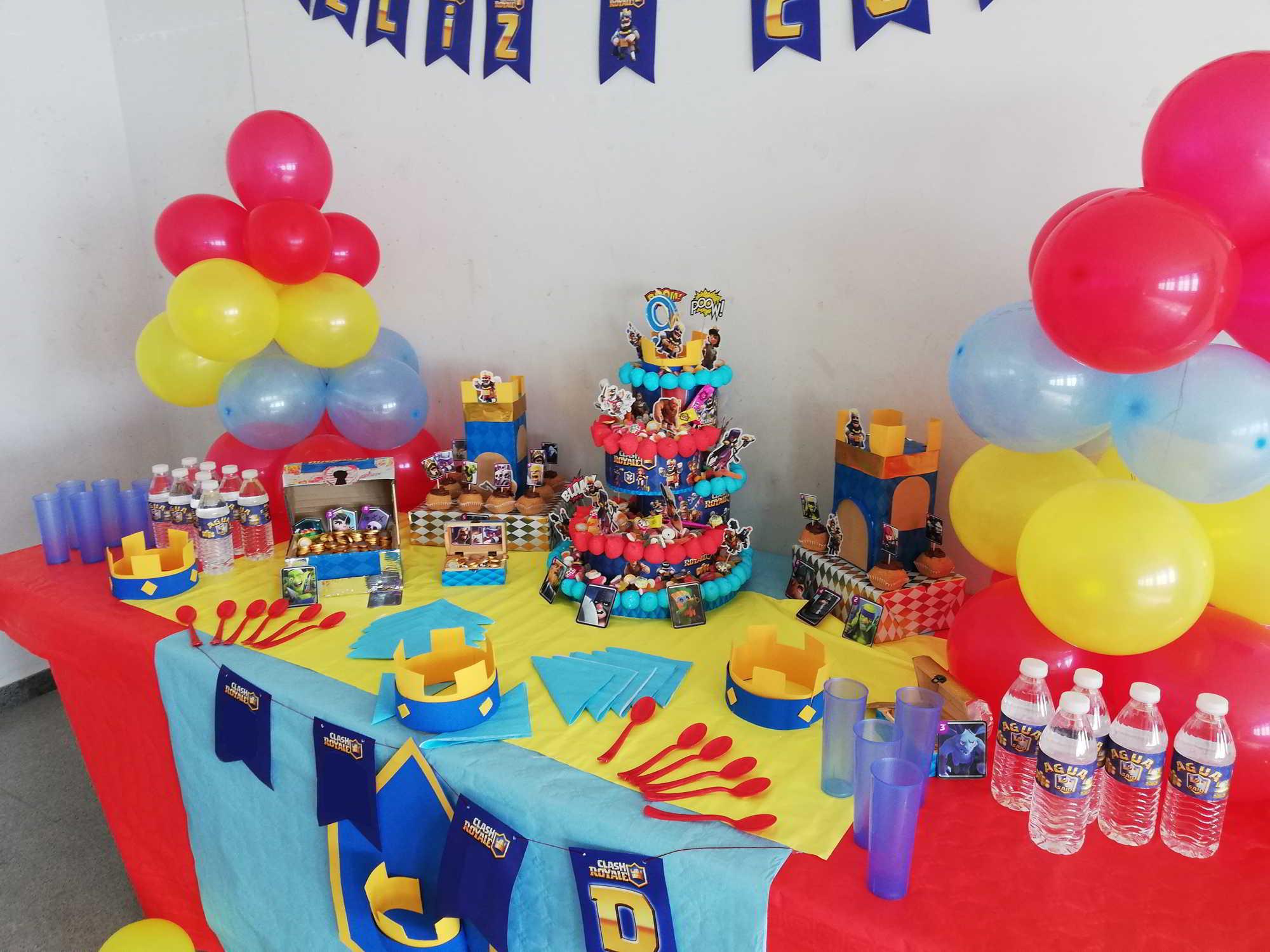 Mesa decorada cumpleaños originales