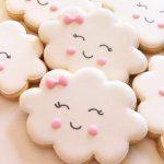 galletas de nubes