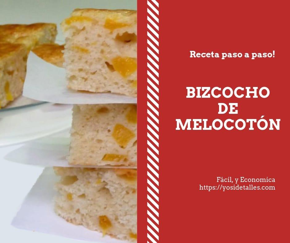 Bizcocho de Melocoton