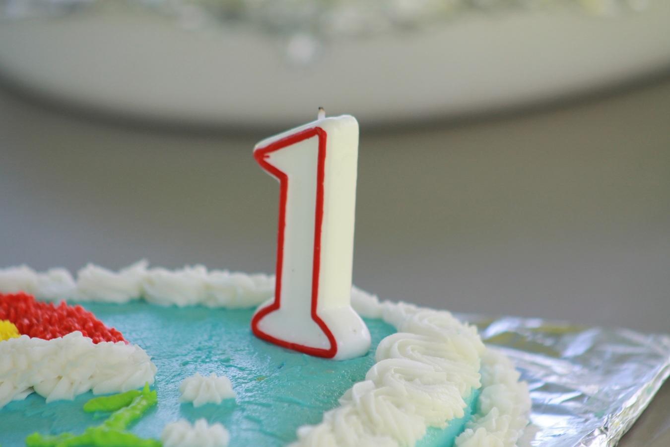 primer cumpleaños de mi bebe